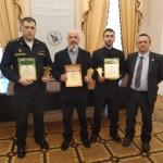 Соколов, Беляев - награждение