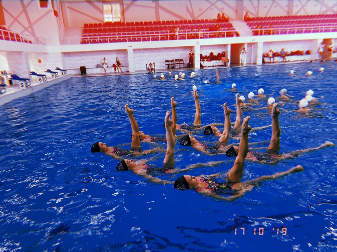 В Калининграде прошли соревнования по синхронному плаванию